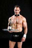 Cheeky waiter