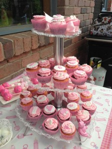 Baby shower cuppies
