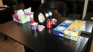 Tarot reading station